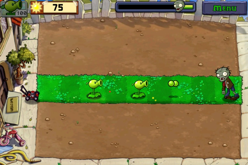 Game plants vs zombies 1