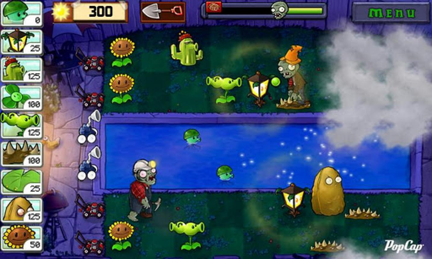 Game plants vs zombies 4