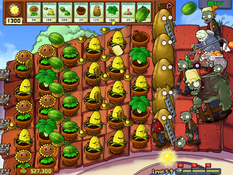 Game plants vs zombies 5