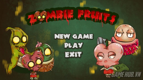 Zombie Fruits - Game zombie mới cho Android cực lạ ảnh 1