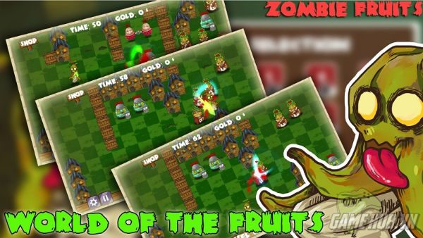 Zombie Fruits - Game zombie mới cho Android cực lạ ảnh 2