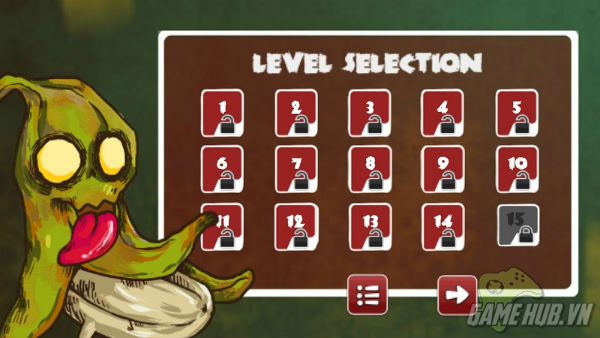 Zombie Fruits - Game zombie mới cho Android cực lạ ảnh 5