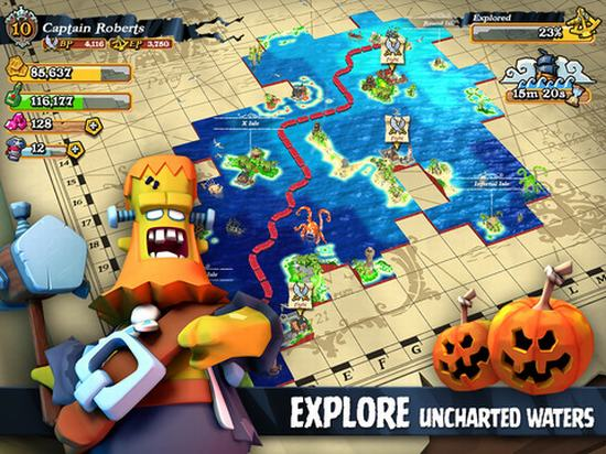 Plunder Pirates - Game chiến thuật 3D cực hay cho Android ảnh 2