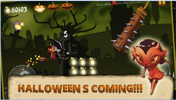 halloween-running-game-android-hay-cho-dem-halloween-1