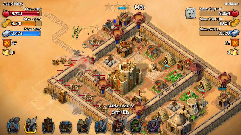 Age of Empires: Castle Siege - Game đế chế huyền thoại trên Android (2)