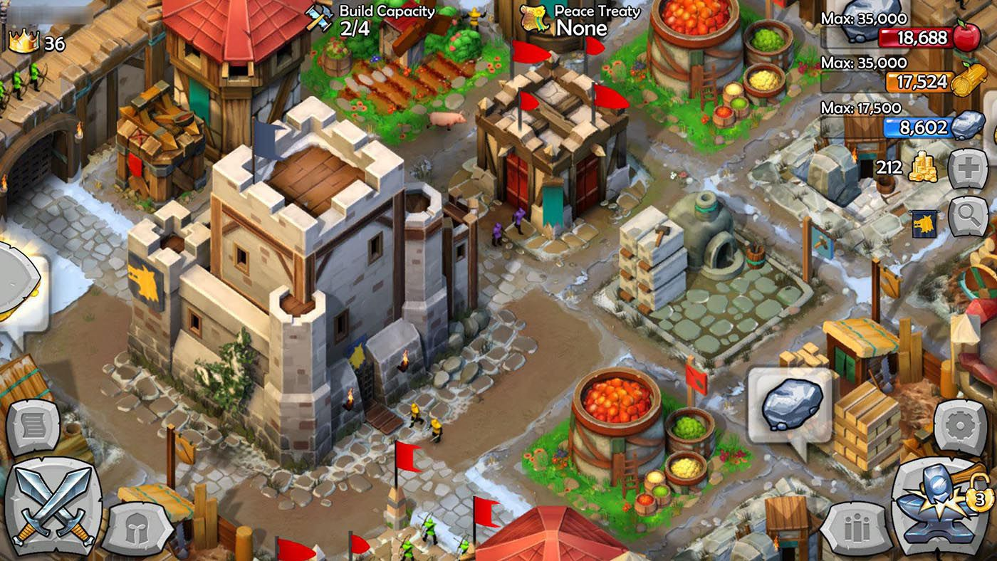 Age of Empires: Castle Siege - Game đế chế huyền thoại trên Android (3)